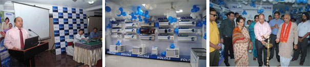 Voltas launches a new brand shop in Bhopal