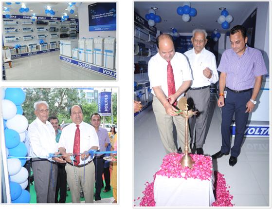 Voltas unveils its New Brand shop in Meerut