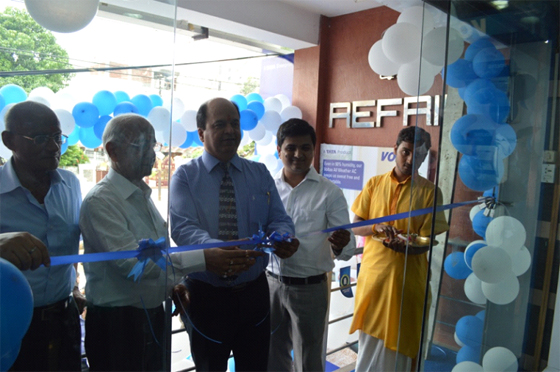 Voltas unveils it's new brand shop in Lucknow