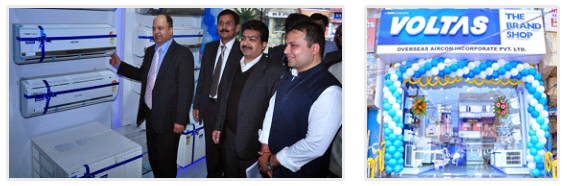 VOLTAS unveils new brand shop in Patna, Bihar